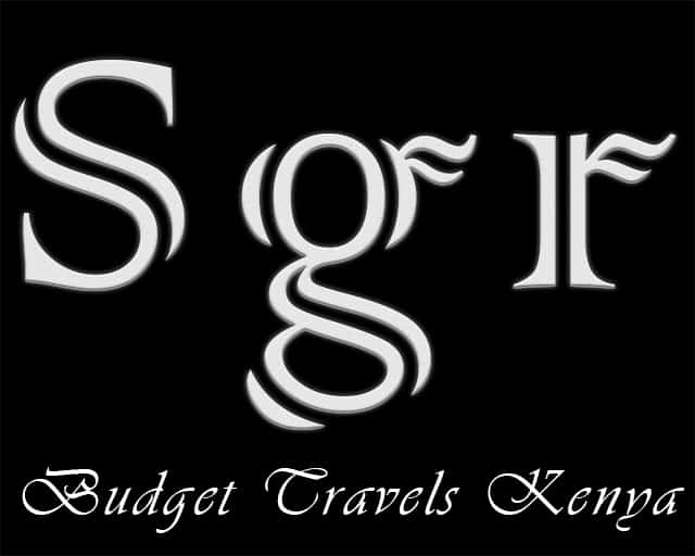 SGR – Budget Travels Kenya